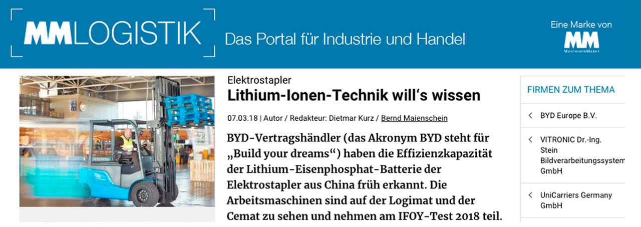 POWERTEC-PRESSE_NEWS: Lithium-Ionen-Technik will's wissen bei mm-logistik.de